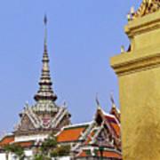 Wat Po Bangkok Thailand 6 Art Print