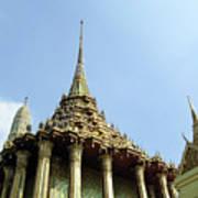 Wat Po Bangkok Thailand 8 Art Print