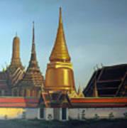 Wat Pra Keaw Art Print