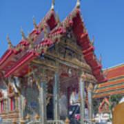 Wat Prachum Khongkha Phra Wihan Dthcb0174 Art Print