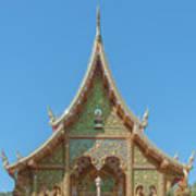 Wat Suan Prig Phra Wihan Gable Dthcm2391 Art Print