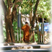 Wat Umong 2 Art Print