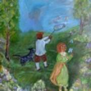 Watching Over The Children Art Print
