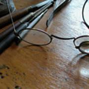 Watchmakers Glasses Art Print
