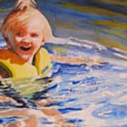 Water Baby Print by Karen Stark