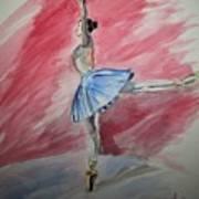 Water Ballerina Art Print