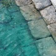 Water Blocks Art Print