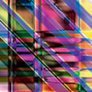 Water Color Window Art Print