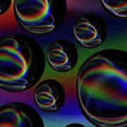 Water Droplets 5 Art Print