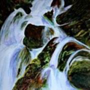 Energy Of Water  Art Print