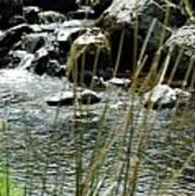 Water Flowing 2 Art Print