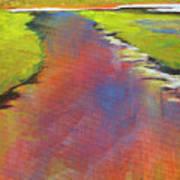 Water Garden Landscape 6 Art Print