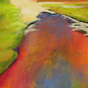Water Garden Landscape 7 Art Print