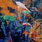 Water Garden Series B Art Print
