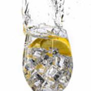 Water Glass Art Print
