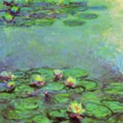 Water Lilies 1917 6 Art Print
