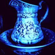 Water Pitcher And Bowl Still Life Art Print