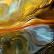 Water Reflections 1064 Art Print