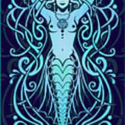 Water Spirit Art Print by Cristina McAllister
