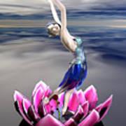 Water Sprite Art Print