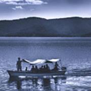Water Taxi - Lago De Coatepeque - El Salvador Art Print