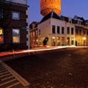 Water Tower Lauwerhof In Utrecht 25 Art Print