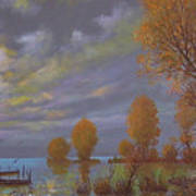 Water World Of Light Art Print