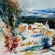 Watercolor  011040 Art Print