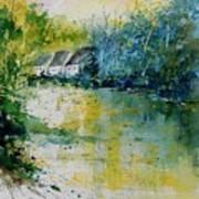 Watercolor  011108 Art Print