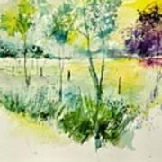 Watercolor 014052 Art Print