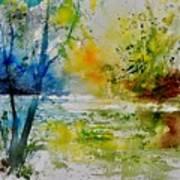 Watercolor 015003 Art Print