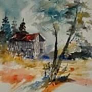 Watercolor 119070 Art Print