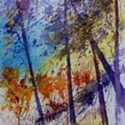Watercolor  131108 Art Print