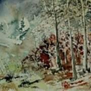 Watercolor 200307 Art Print