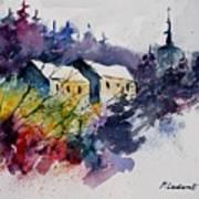 Watercolor 231207 Art Print