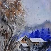 Watercolor 45512113 Art Print
