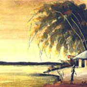Watercolor 85 Art Print