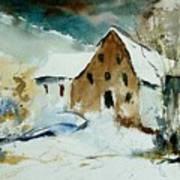 Watercolor 9696 Art Print