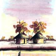 Watercolor 98 Art Print