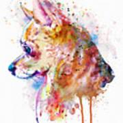 Watercolor Chihuahua  Art Print