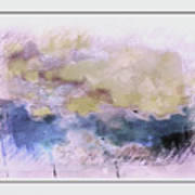 Watercolor Landscape Art Print