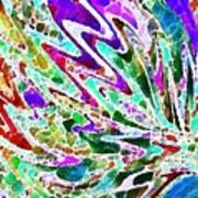 Watercolor My World Art Print