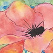 Watercolor Poppy Art Print