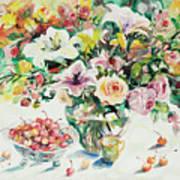 Watercolor Series 1 Art Print