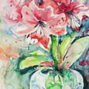 Watercolor Series 139 Art Print