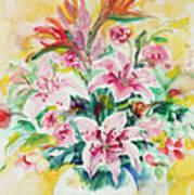 Watercolor Series 141 Art Print