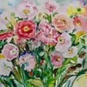 Watercolor Series No. 258 Art Print