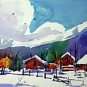 Watercolor_3483 Art Print