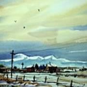 Watercolor_3487 Art Print