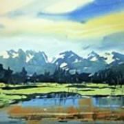 Watercolor3620 Art Print